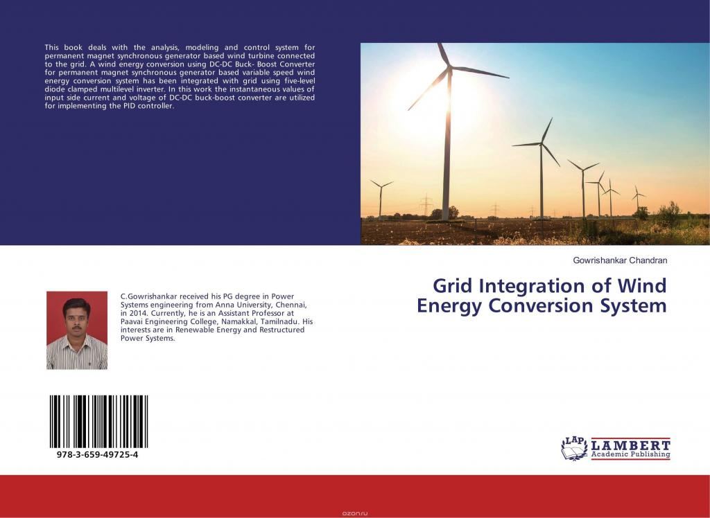 thesis on wind energy conversion system Transmission systems incorporating wind energy conversion systems a thesis probabilistic method provides more stringent results for a system with wind.