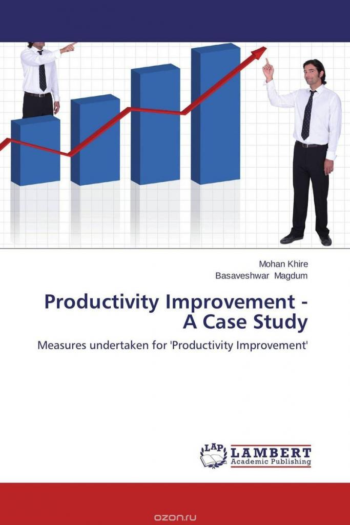 thesis productivity improvement Case studies on productivity improvement and supplier selection thesis submitted in partial fulfillment of the requirements for the degree of.